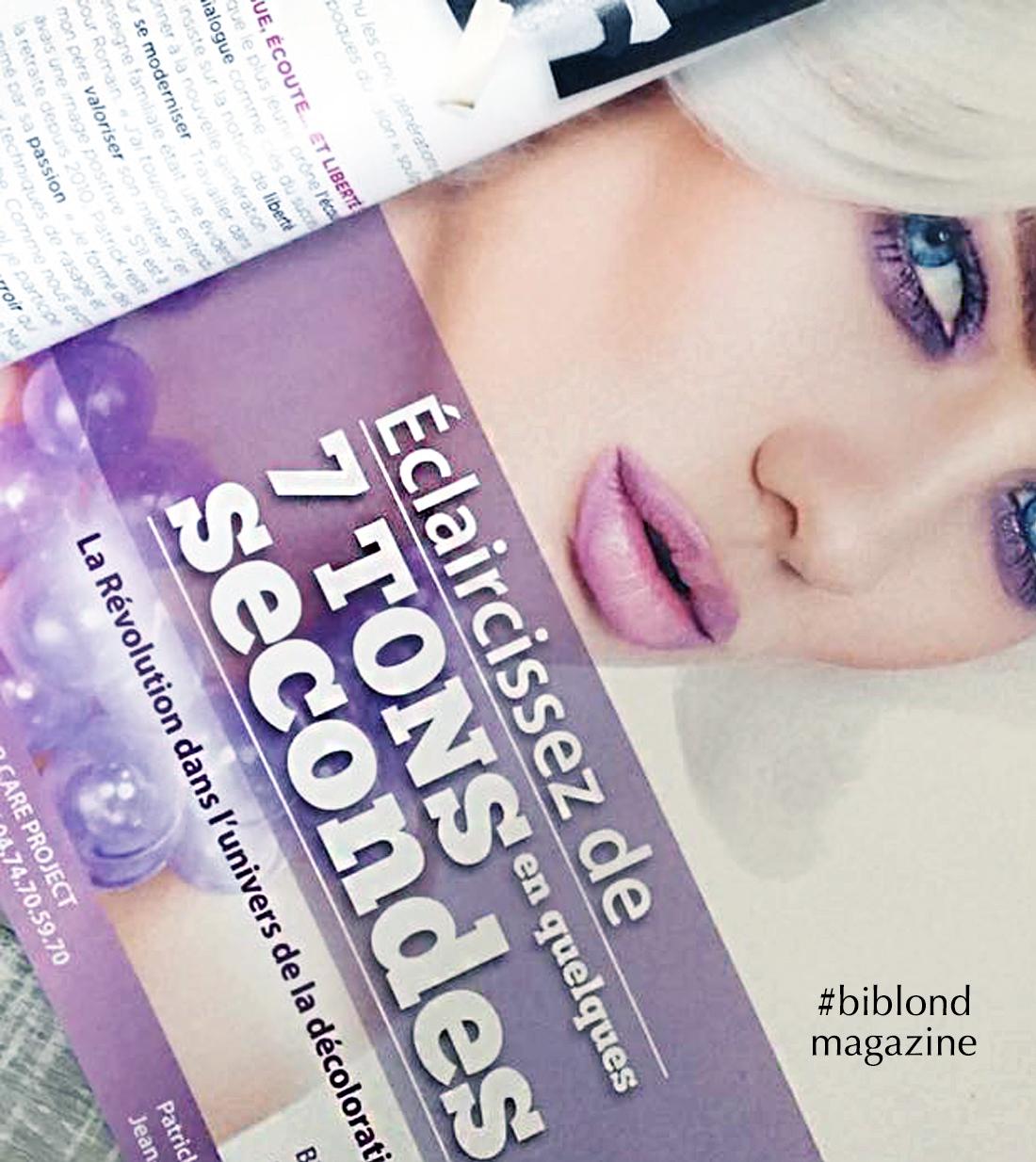 hcp affiche biblond magazine quadricolore